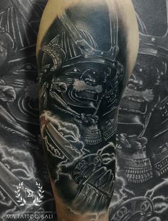 Samurai Tattoo by : Prima  #MaTattooBali #BlackgreyTattoo #SamuraiTattoo #BaliTattooShop #BaliTattooParlor #BaliTattooStudio #BaliBestTattooArtist #BaliBestTattooShop #BestTattooArtist #BaliBestTattoo #BaliTattoo #BaliTattooArts #BaliBodyArts #BaliArts #BalineseArts #TattooinBali #TattooShop #TattooParlor #TattooInk #TattooMaster #InkMaster #AwardWinningArtist #Piercing #Tattoo #Tattoos #Tattooed #Tatts #TattooDesign #BaliTattooDesign #Ink #Inked #InkedGirl #Inkedmag #BestTattoo #Bali Ma Tattoo, Piercing Tattoo, Tattoo Shop, Tattoo Studio, Tattoo Master, Ink Master, Fine Line Tattoos, Cool Tattoos, Samurai Tattoo