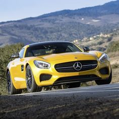 With a powerful 4.0-liter V8 biturbo engine, seven-speed dual clutch transmission and double-wishbone suspension derived from motorsport, the Mercedes-AMG GT S is truly king of the mountain.  #Mercedes #Benz #AMGGT #AMG #instacar #carsofinstagram #germancars #luxury