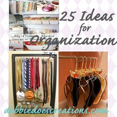 DIY Organization Ideas   Making the World Cuter Monday   DIY Link up Party, Crafts and More!