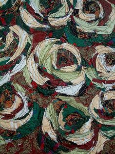 11 | Textile swatch created from vintage and recycled fabric… | Flickr