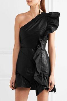 https://www.net-a-porter.com/us/en/product/855791/isabel_marant/lavern-one-shoulder-ruffled-coated-cotton-blend-mini-dress
