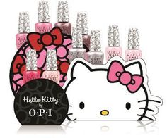 Hello Kitty OPI Nail Polish Collection 2016 Launch Colour Names and Packaging GelColor