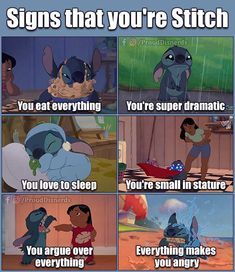 I must be stitch's sister