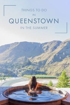 Wondering what to do in Queenstown, New Zealand in the summer? I've rounded up some of the top things to do and attractions to visit for your Queenstown itinerary, including adventurous activities, top hikes, and the best onsens to relax in Queenstown! #Queenstown #NewZealand