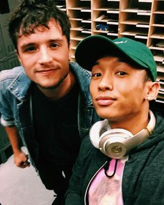 Josh Hutcherson - Josh Hutcherson with a fan at the Mandalay Bay Theater