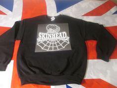 Skinhead Beer Cobweb Sweatshirt