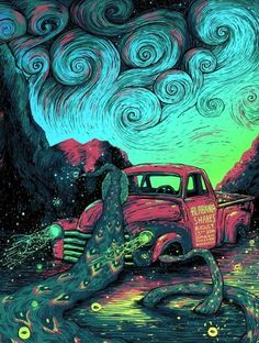 Jungle Indie Rock Music Tumblr - Alabama Shakes gig poster by James Eads