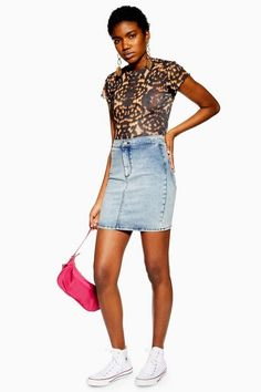 ab5e9213a Bleach Acid Wash Skirt. BleachDenim SkirtFashionMini SkirtsTopshopModaJean  ...