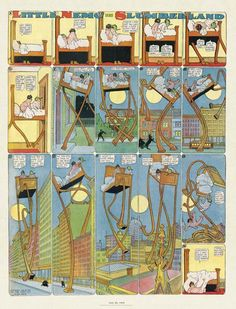 Little Nemo in Slumberland -- a review, perhaps, or a photoset inspired by Winsor McCay's masterwork