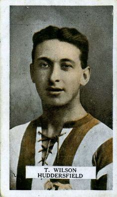 Tom Wilson of Huddersfield Town in Tom Wilson, Huddersfield Town, Fa Cup, 1920s, Champion, Toms, Football, Movie Posters, Soccer