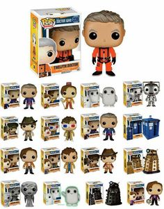 Doctor Who pop vinyls