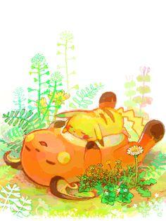 Pikachu and Raichu Pokemon Pokemon Pocket, Cute Pokemon, Pokemon Fan, Pikachu Raichu, Pikachu Art, Nerd Love, Pokemon Pictures, Otaku, Catch Em All