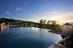 The warm waters await you at Terre Blanche in Provence France
