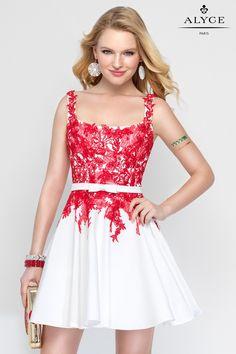 The Hottest Dress Designer hands down! Alyce Paris.  Check out their dresses at alyceparis.com Alyce Short | Dress Style #3689 #http://pinterest.com/alyceparis