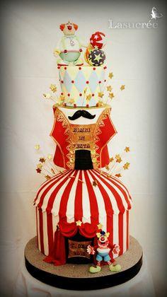 """Résultat de recherche d'images pour """"piece montée cirque"""""""
