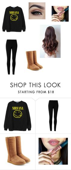 """Nirvana"" by fashionista-dxliv on Polyvore featuring Chicnova Fashion, Max Studio, UGG Australia, women's clothing, women, female, woman, misses, juniors and nirvana"