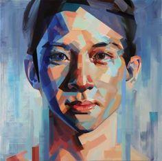 """Saatchi Art Artist Yi Shin Chiang; Painting, """"It's You but Not You"""" #art"""