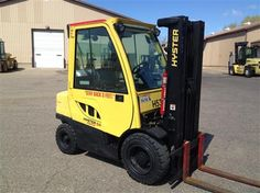 #usedforklifts #materialhandling #hyster Hyster H50FT Used Forklift / Capacity: 5,000 / Year: 2006 / Mast: 82 / 189 TSU / LPG, LEVER, 4 WAY VALVE & HOSING - CALL 952-492-3900
