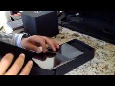Teia do SpiderMan?     Montage: Unboxing the Nexus 7 is fun!
