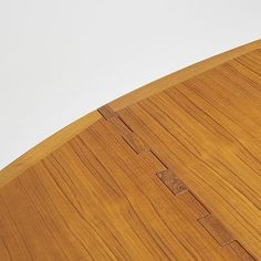 Kurt Ostervig drop-leaf dining table Denmark, c. 1960 teak 77 w x 51 d x 28.5 h inches Table features two 24-inch drop-leaves; table measures twenty-nine inches when folded.