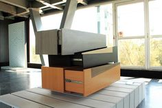Booleanos Cabinet - Furniture Design by Joel Escalona
