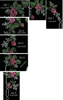 This Pin was discovered by sel Easy Crochet Patterns, Baby Knitting Patterns, Cross Stitch Patterns, Cross Stitch Heart, Cross Stitch Flowers, Embroidery Flowers Pattern, Flower Patterns, Mantel Azul, Teapot Cover