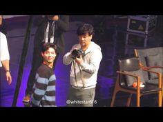 160116 박보검 팬미팅 - 팬들과 사진 찍는 보거미 - YouTube