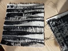 Stitched marks - Debbie Lyddon  MARKMAKING FOR TEXTILE CONSTRUCTIONS