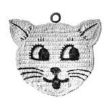 Crochet Potholder Patterns - Easy Patterns for Pot Holders. Some really cute patterns for pot holders on this site. Crochet Potholder Patterns - Easy Patterns for Pot Holders. Some really cute patterns for pot holders on this site. Crochet Potholder Patterns, Crochet Cat Pattern, Vintage Crochet Patterns, Crochet Dishcloths, Easy Knitting Patterns, Crochet Doilies, Easy Patterns, Free Pattern, Crochet Baby Cocoon