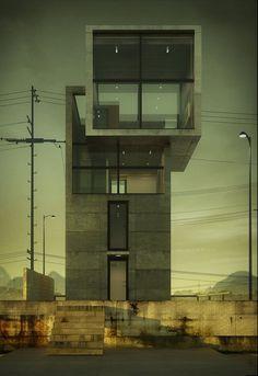 4x4 House, Tadao Ando