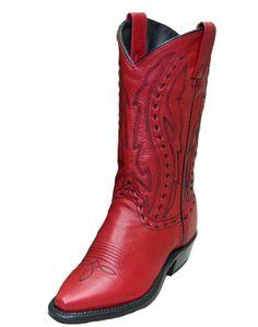 "Abilene Ladies 11 "" Red Western Boot *****"