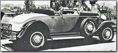 One of the first cars with a radio option! 1930 Chrysler 77