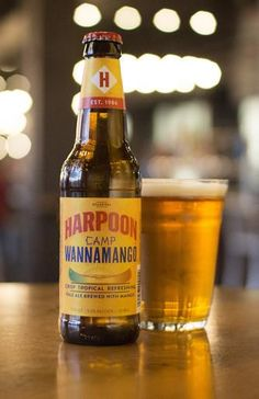 With its cheeky, child-like name and its sweet mango flavor, Harpoon's latest summer release is a trip down memory lane and an exciting tropical vacation in one.