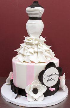 https://flic.kr/p/tgWVg4 | Amber's Bridal Shower Cake