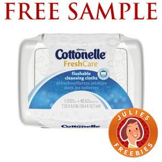 Free Sample of Cottonelle Cleansing Cloths