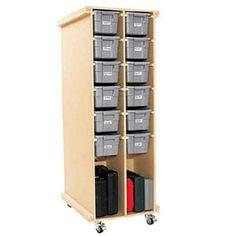workshop storage plans | Rolling Workshop Storage Woodworking Plan - Product Code DP-00488