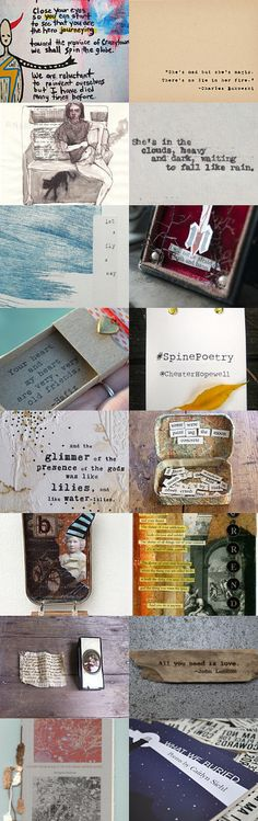INSIDE THE BOX: POETRY by 3buu on Etsy--Pinned with TreasuryPin.com