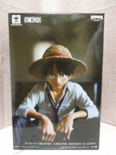 New One Piece Creator × Creator Monkey D Luffy Figure  #BANPRESTO