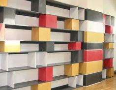shelves, shelves, shelves