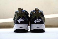 "#Reebok Instapump Fury ""Camo"" By #Mitasneakers & #Bape #sneakers"