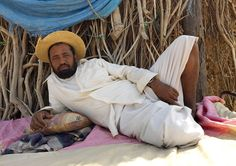 Yemeni man in Tihama coast - saudi Arabia | like a French lady