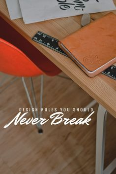 20 Design Rules You Should Never Break
