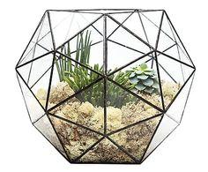 """Mini skleník """"Aztec Hexagon"""", výš. 33 cm"""
