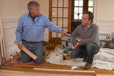 with Ask This Old House general contractor Tom Silva | thisoldhouse.com | from How to Patch Hardwood Flooring