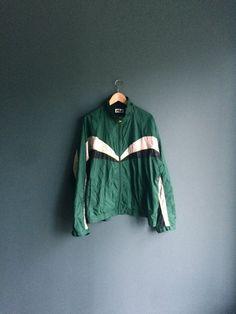 XL 90 s Fila Windbreaker  Fila Vintage veste  par BunLoveOneLove