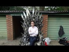 For sale: 6 foot dildo 'Game Of Thrones' chair. Definitely a conversation starter... Video. #VivaXO #GameofThrones #WTF