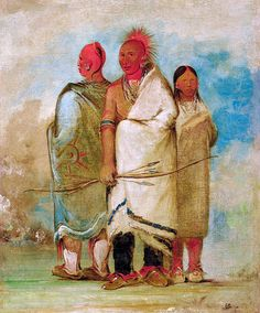 Three Fox Indians Indian Face, Plains Indians, Historical Art, Mountain Man, Native American Indians, Face Art, Jacob Miller, History, Archery