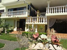 De Ark Guesthouse back at dusk – × by Marine Wildlife Affordable Bedding, Bed And Breakfast, Ark, Interior And Exterior, Wildlife, Table Decorations, Luxury, Garden, House