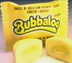 Bubbaloo de banana Food For Memory, My Memory, Vintage Candy, Vintage Toys, Childhood Memories 90s, Vintage Video Games, Elma Chips, Anita, 90s Nostalgia
