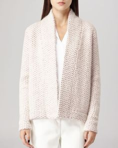 Reiss Sweater - Mave Textured Cardigan